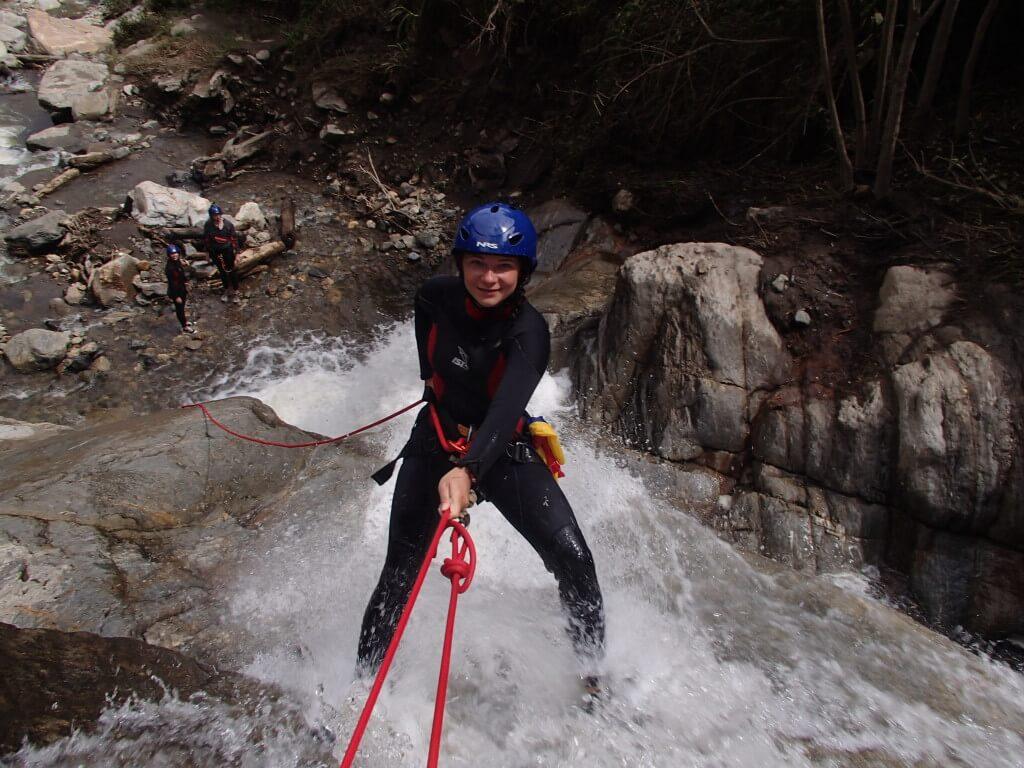 Volunteering as extreme sport guide, Ecuador