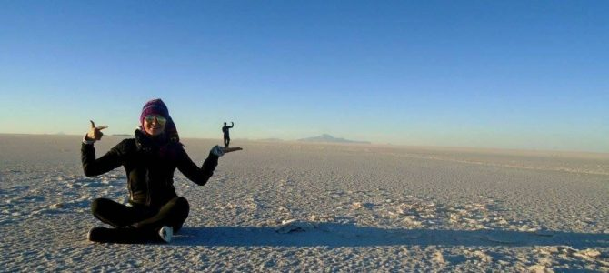 Ako som sa pasovala s nadmorskou výškou v soľnej púšti Bolívie
