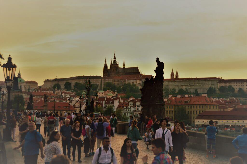 Charles bridge, Karlov most, Prague