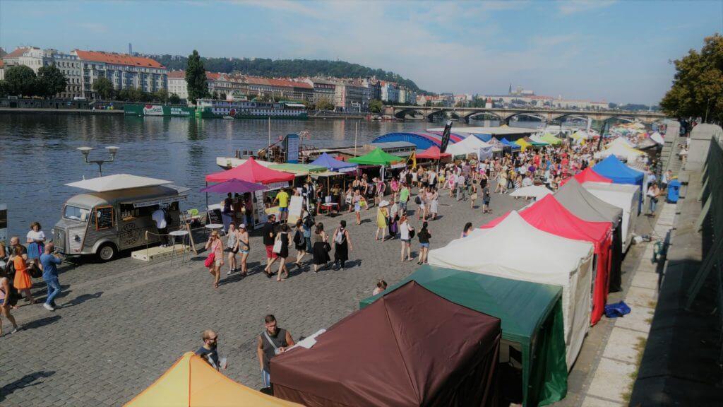Naplavka v Prahe