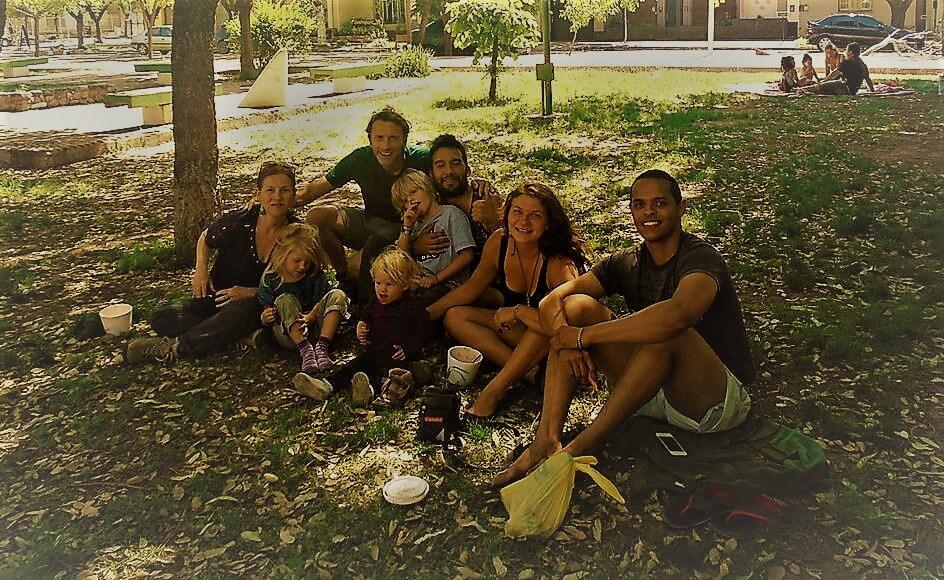 My CS family, Lujan de Cuyo, Argentina