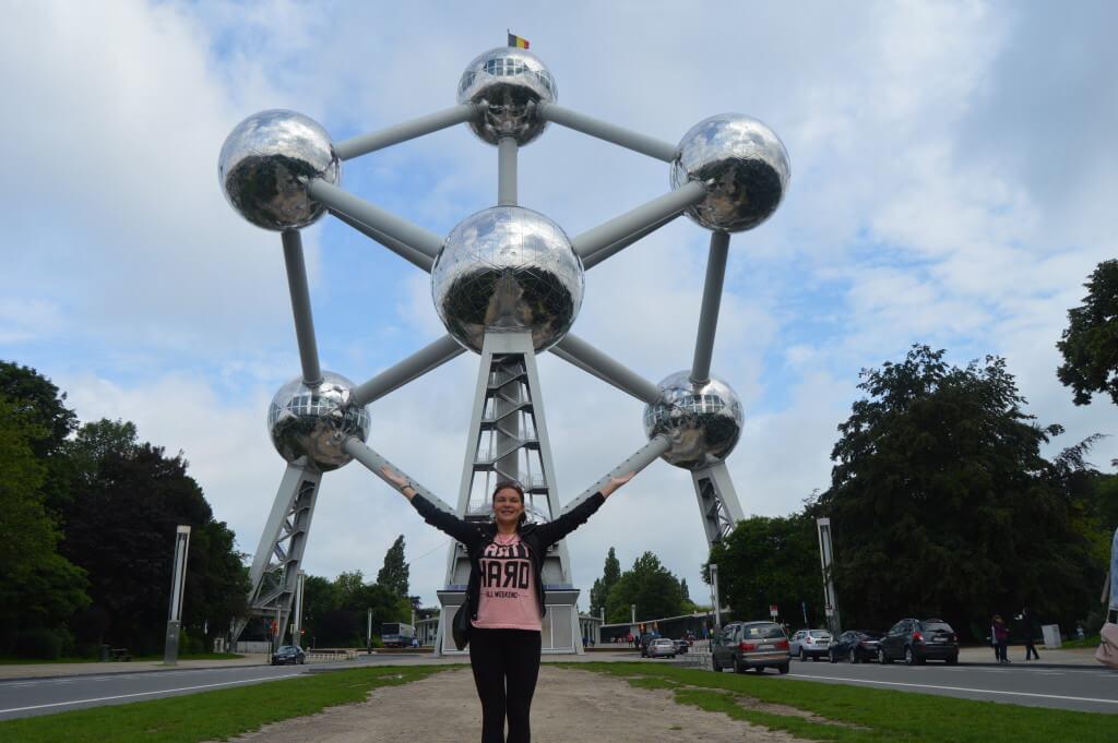 Atomium, symbol of Brussels