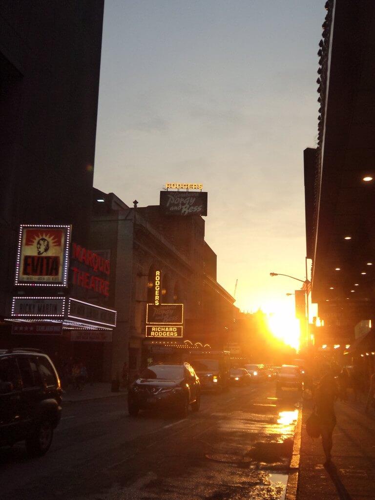 NYC, Broadway street