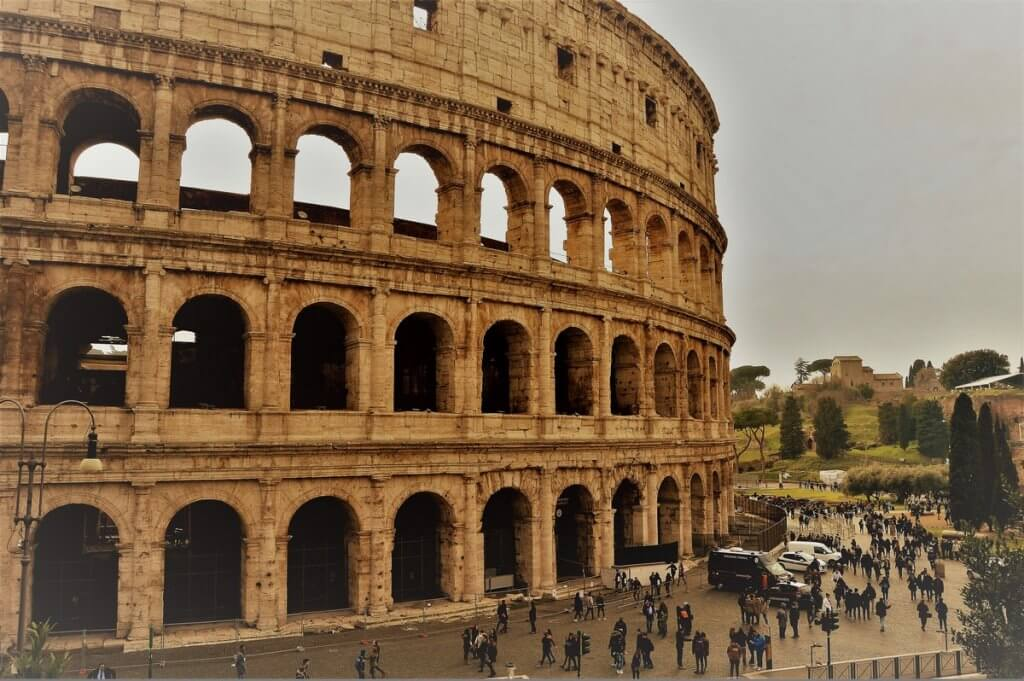 Coliseum, Rome, Italy - made by MiliMundo