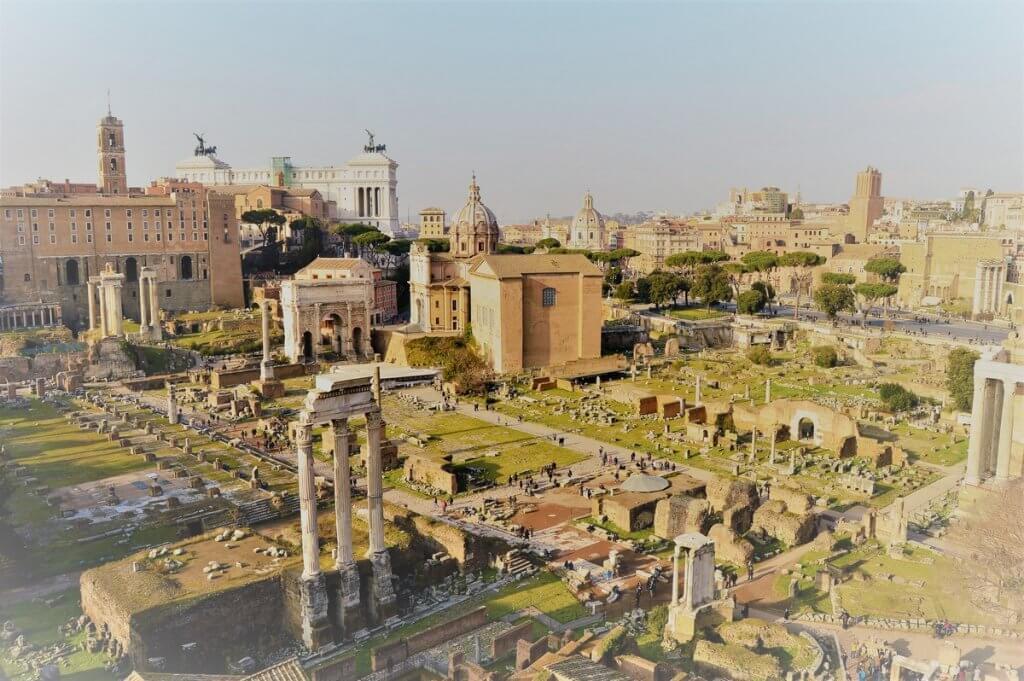 Forum Romanum, Rome, Italy - made by MiliMundo