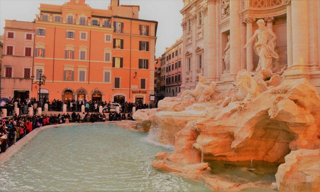 Fountain Trevi, Rome, Italy - made by MiliMundo