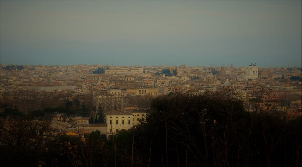 Views from Guiseppe Garibaldi, Rome, Italy - made by MiliMundo