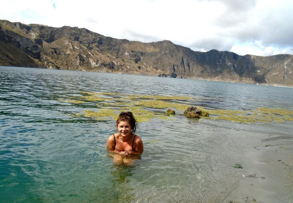 Lagoon Quilotoa, Ecuador - made by MiliMundo