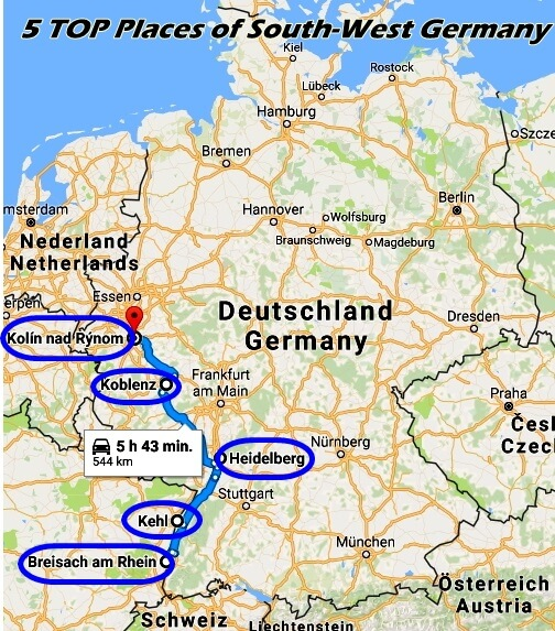 Cruise Diary Part 8   TOP 5 Places of South West Germany